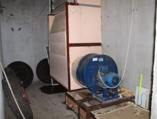 Highpressure Fan in the Phase I Bunker