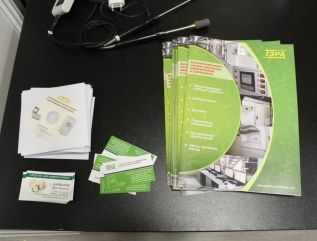 Our Catalogs, Disks and Business Cards